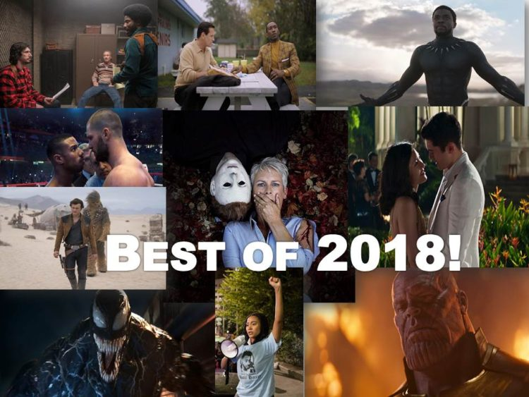 Top Movies of 2018!