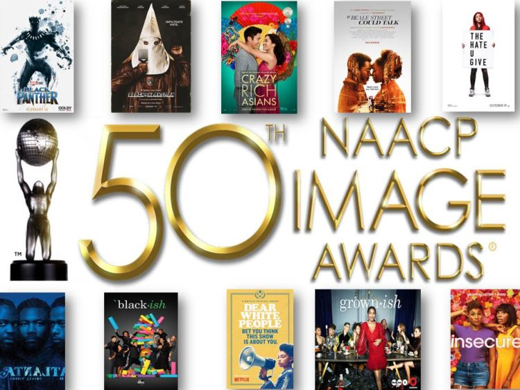 The 50th NAACP Image Award Nominations
